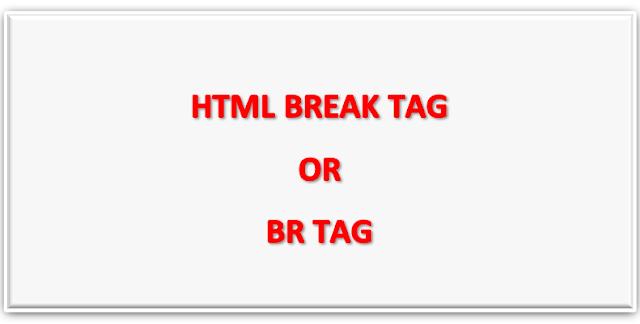 HTML me br tag kya hota hai kaise use kar sakte hai