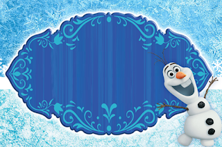 Olaf Smiling: Free Printable Invitations.