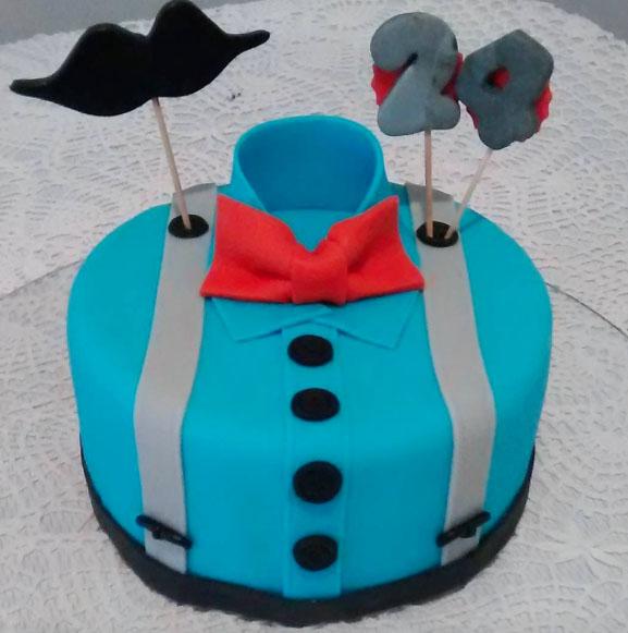 Husband's Shirt Cake Ideas