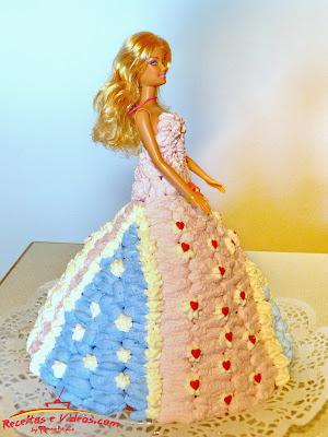 Bolo Barbie - Bolo Artístico