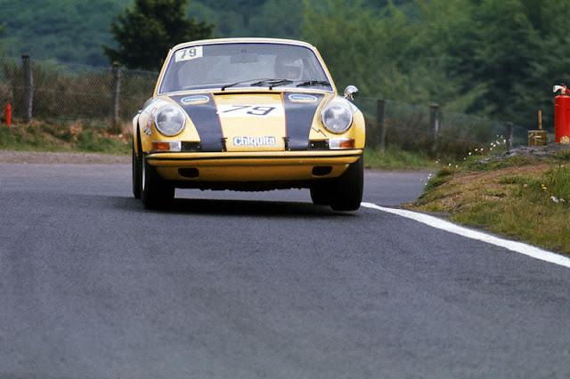 Porsche 911S #79 Racing Team AAW - Class Winners ADAC 1000km 1970
