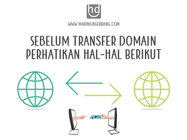 Sebelum Transfer Domain, Perhatikan Hal-Hal Berikut