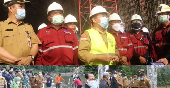 Pj Sekda Asraf Dampingi Kunjungan Gubernur Al Haris ke Lubuk Larangan dan PLTA