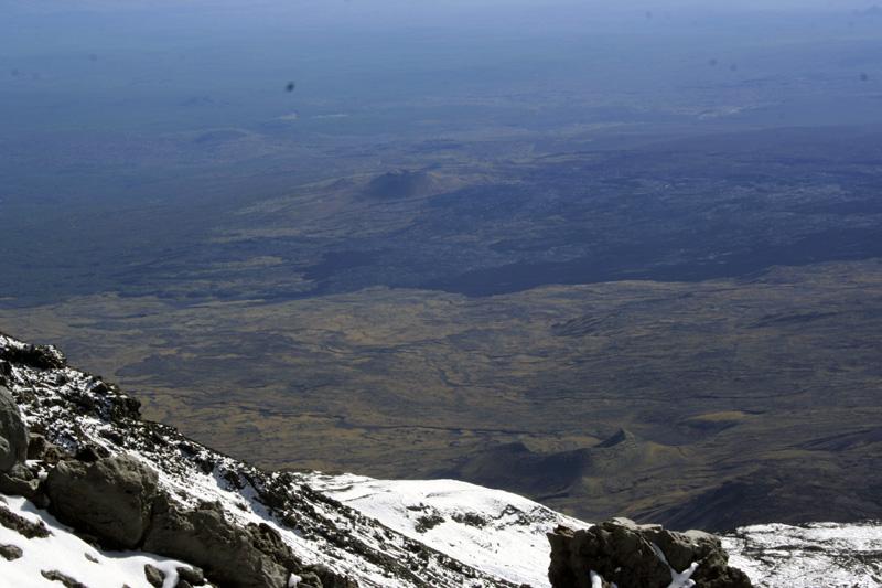 виды со склонов вулкана толбачик камчатка
