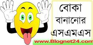 বোকা বানানোর sms | বোকা বানানোর জোকস | ছেলে-মেয়েদের বোকা বানানোর এস এম এস