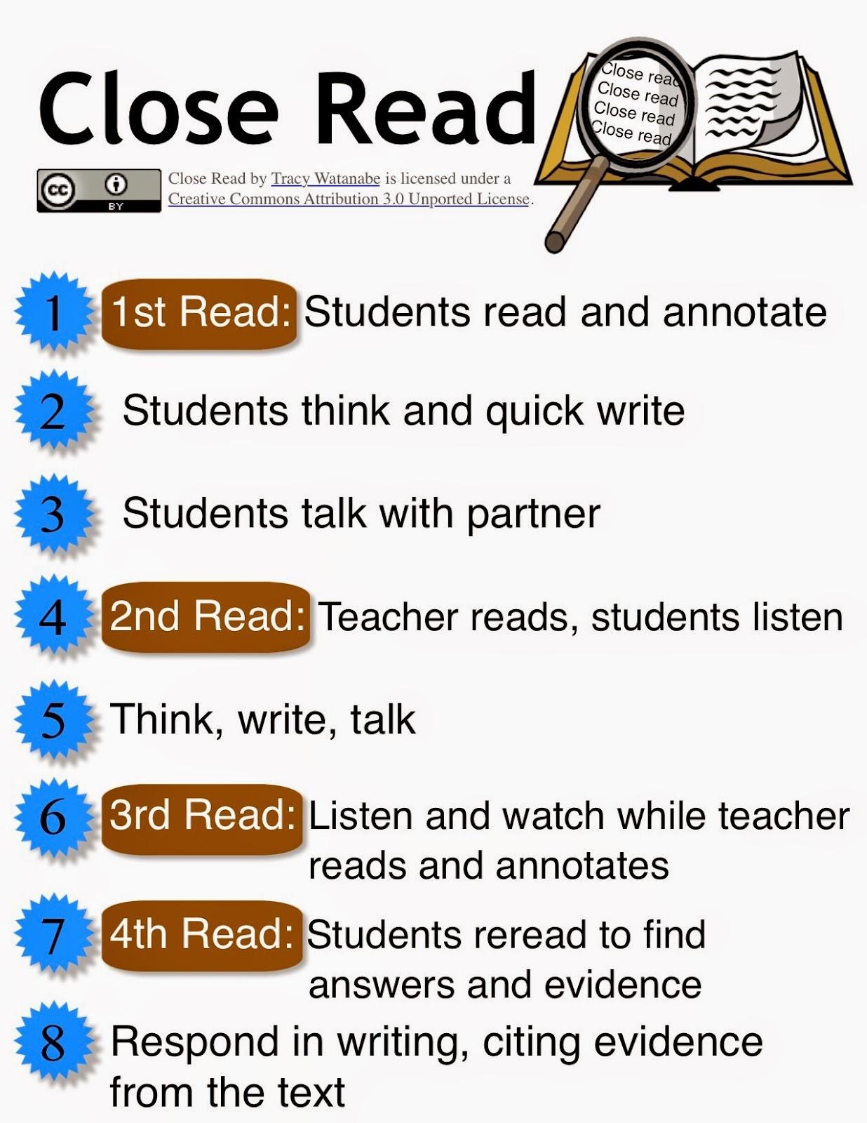 close reading worksheet  close reading essays