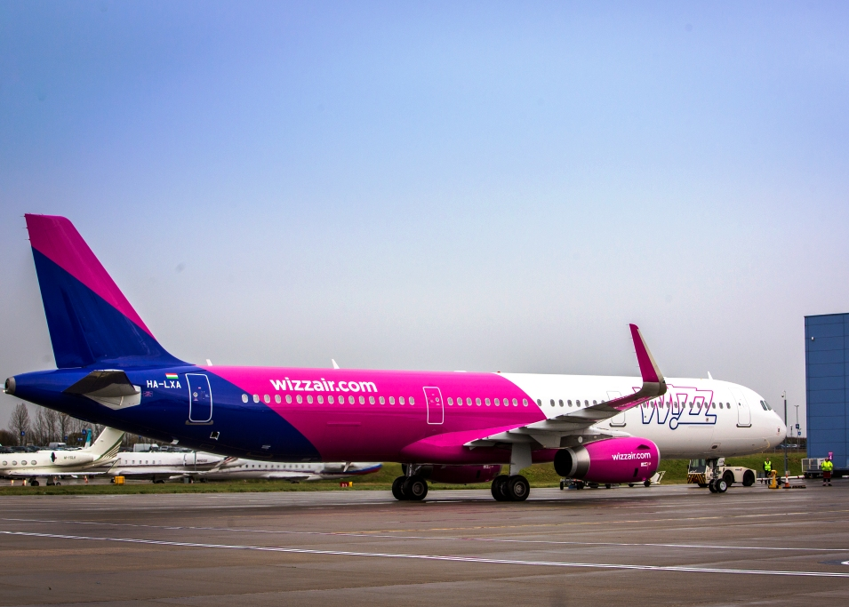 wizz air to station a321s in skopje. Black Bedroom Furniture Sets. Home Design Ideas
