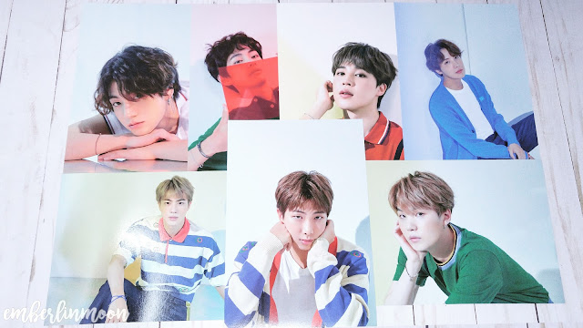 BTS 2020 Season Greetings - Mini Poster Set