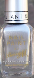 Barry M  Silver Foil Nail PAint