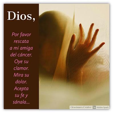 Oración para una Amiga Enferma de Cáncer