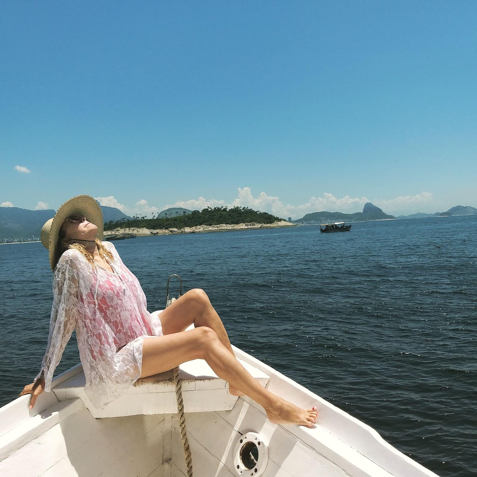 Passeio de barco até as ilhas Cagarras