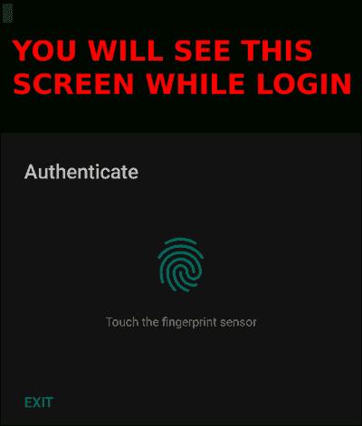 Termux Fingerprint Lock - Secure your Termux With Fingerprint