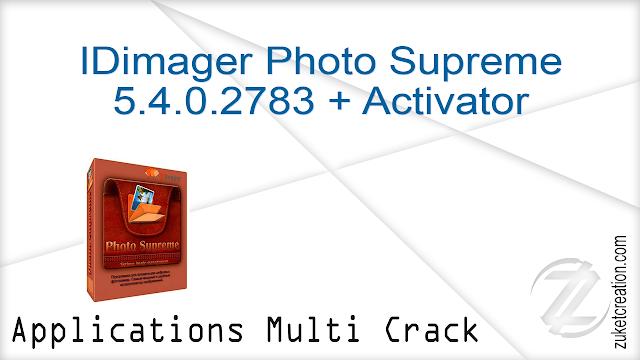 IDimager Photo Supreme 5.4.0.2783 + Activator