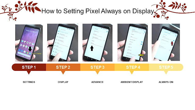 How to Setting Pixel Always on Display