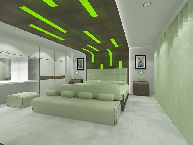 Home Color Idea Modern Green Bedroom Ideas 2019