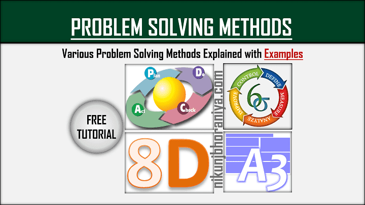 Problem Solving Methods  Steps, Process, Examples