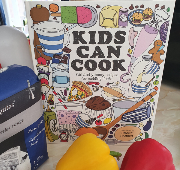 Review of Kids Can Cook Recipe book