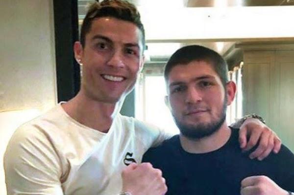 Khabib Nurmagomedov Memenangkan Pertarungan, Ternyata Ada Cristiano Ronaldo Di Belakangnya