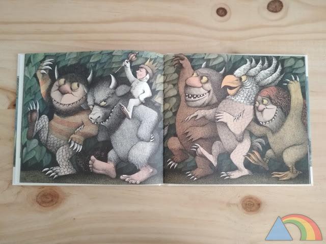Interior del libro Donde viven los monstruos
