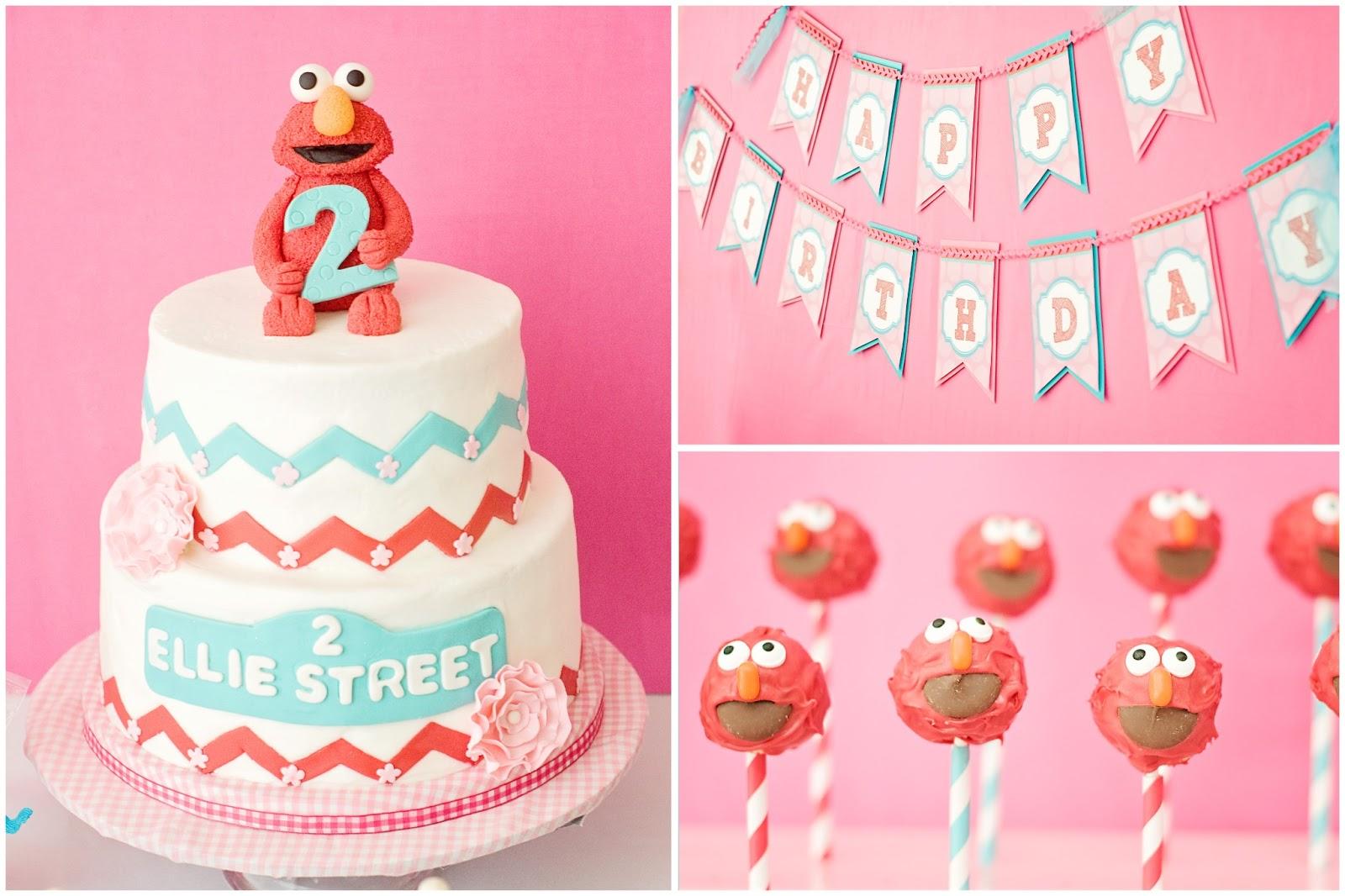 Crafting Mama Ellies Elmo Party