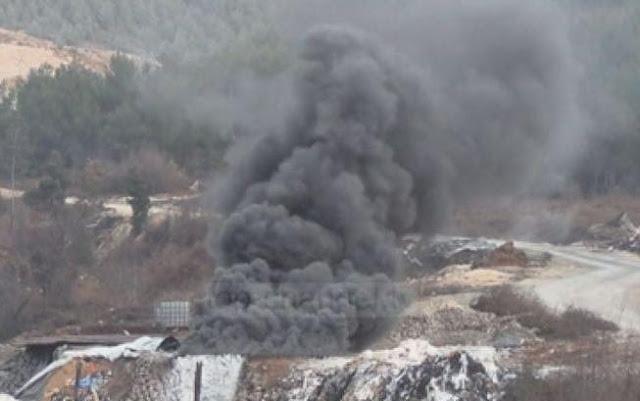 10 arrested in Kruja for burning remnants in lime kilns