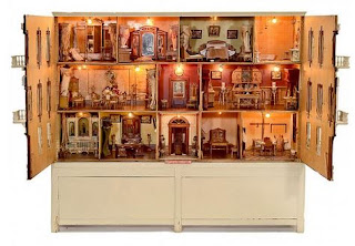 """dollhouse"" ""antique"" ""palace"" 1:12"