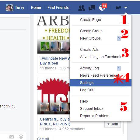 How Do I Change Language Back to English On Facebook