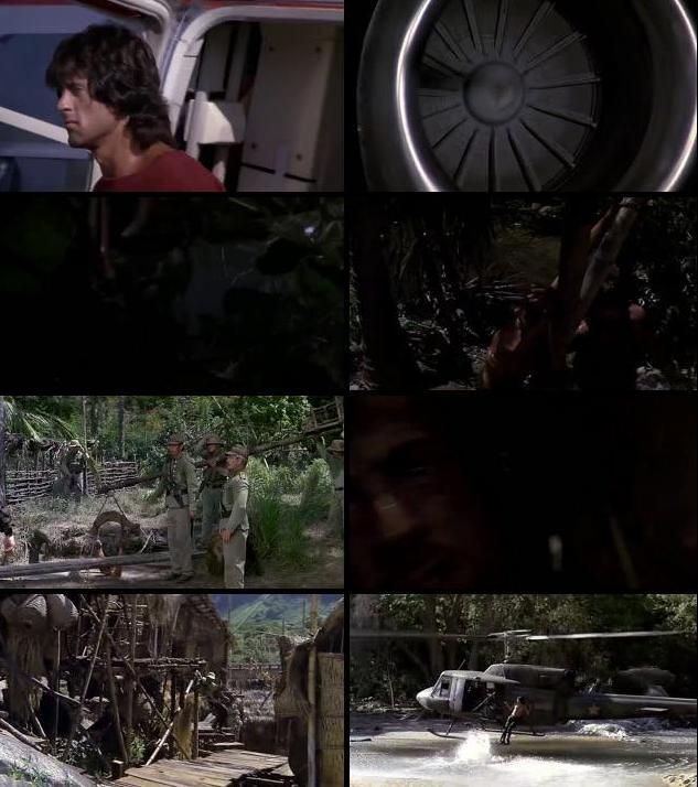 Rambo First Blood II (1985) Dual Audio Hindi 480p BRRip