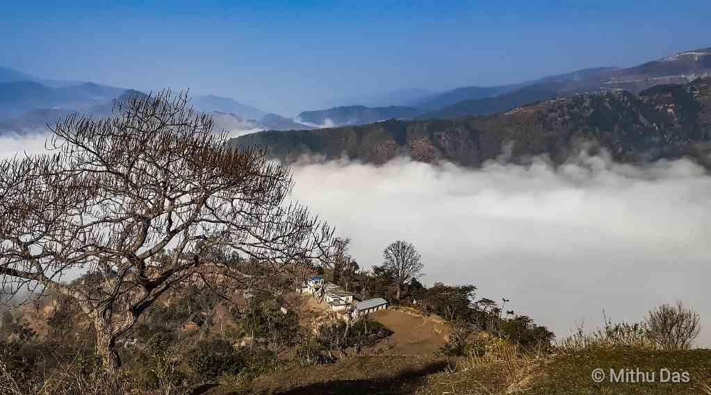The village of Bishnu Kolli