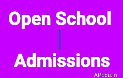 * Open School Admissions