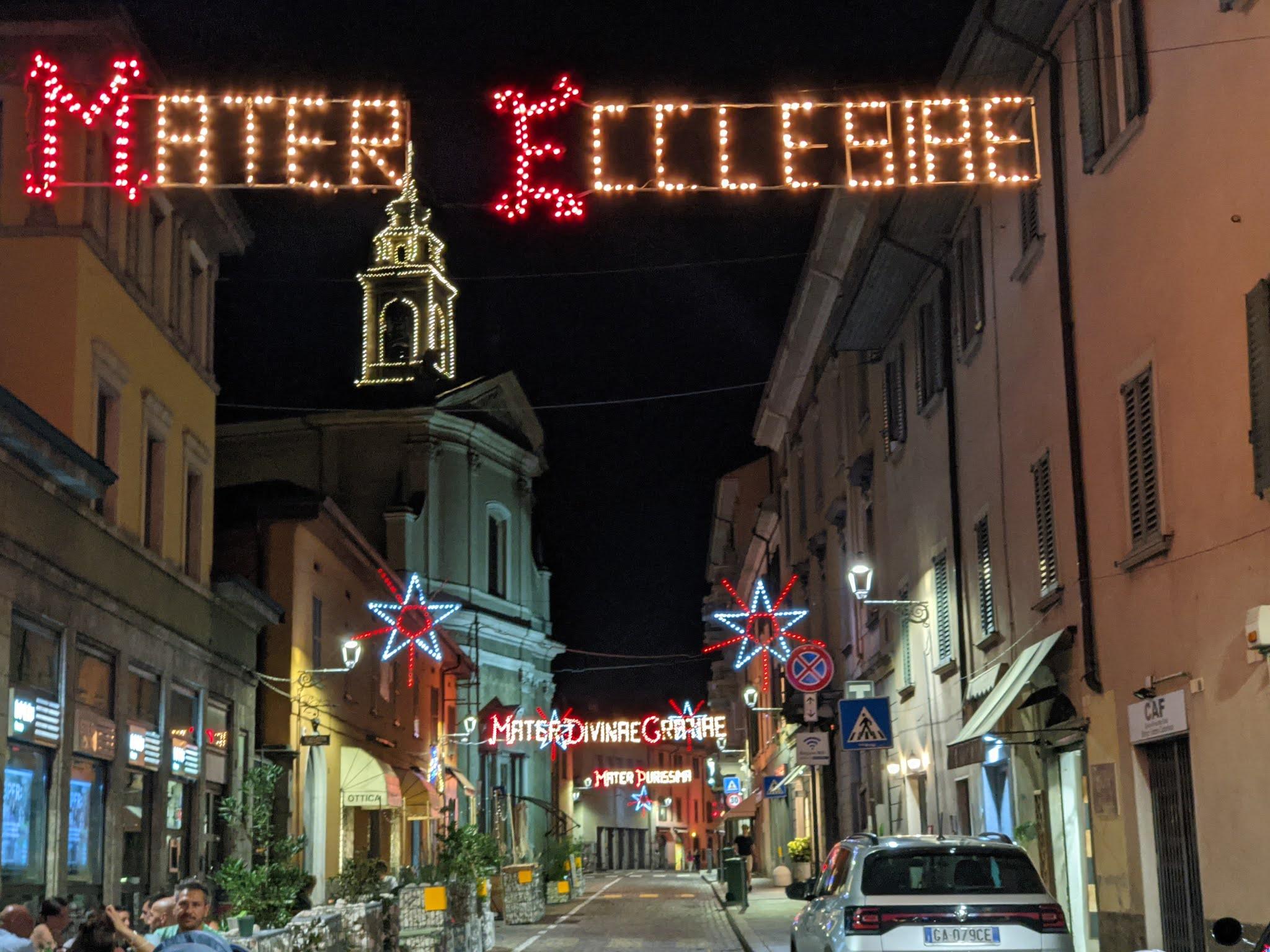 Santa Caterina Bergamo - Festa dell'Apparizione - Mater Ecclesiae