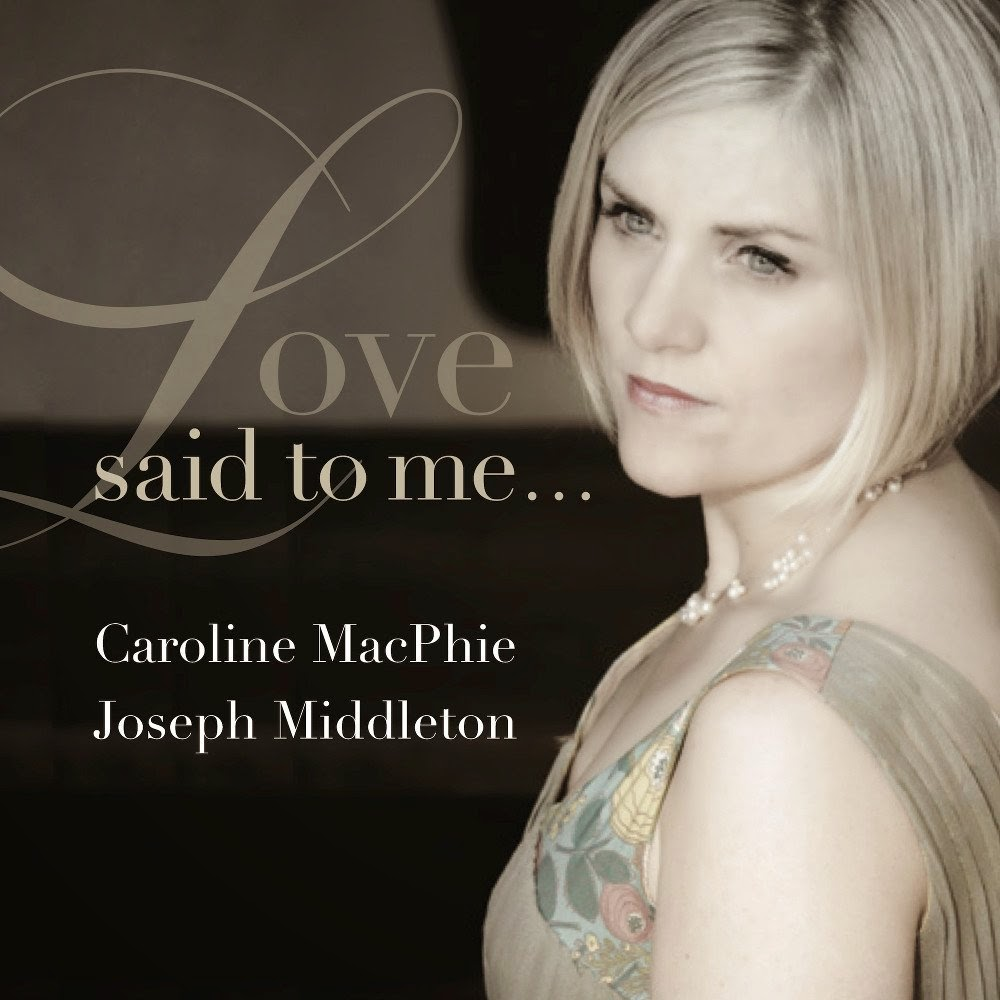 Love said to me - Caroline MacPhie