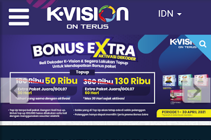 Cara Update Data Pelanggan KVision (K-Vision)