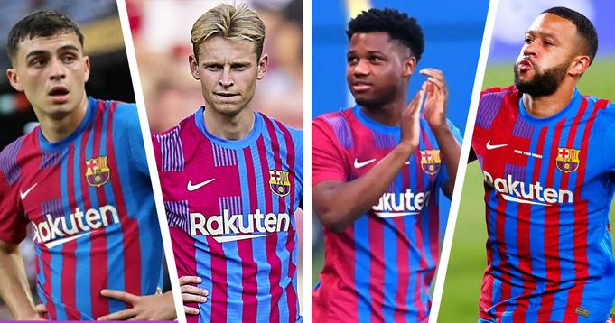 11 Most important players in the Barcelona squad now