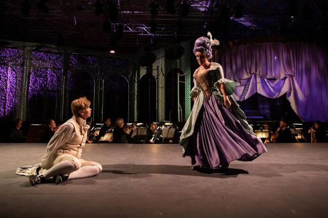 Mozart: Le nozze di Figaro - Samantha Price, Claire Lees- Opera Holland Park 2021 [Photo Ali Wright)
