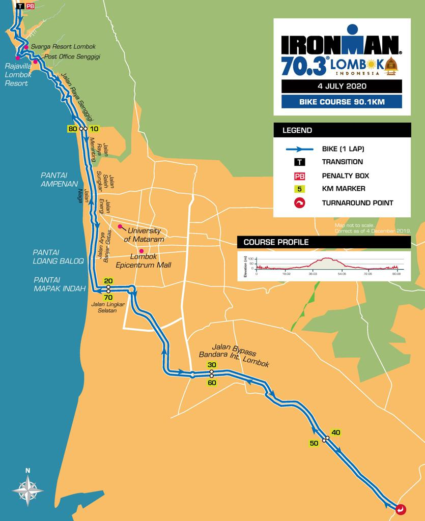 Bike 🚴 Ironman 70.3 Lombok • 2020/2021