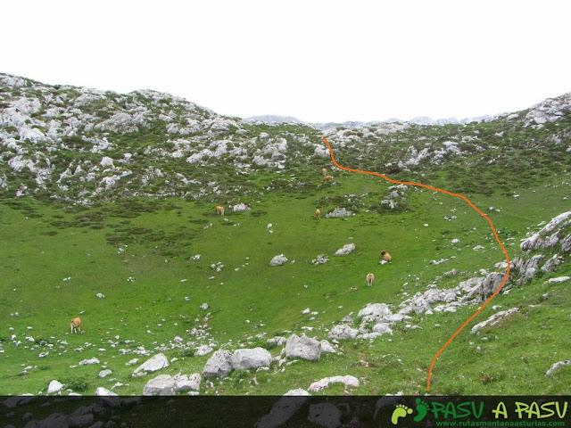 Camperas de Moandi hacia Vega Maor