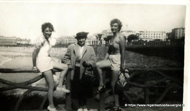photo noir et blanc vacances