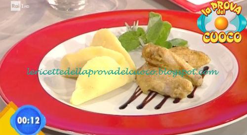 Alette di pollo speziate con gnocco fritto ricetta Fava da Prova del Cuoco