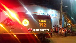 Evangélica morre após passar mal dentro de igreja em Rondonia