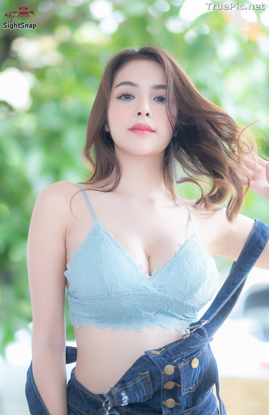 Image Thailand Model - Soithip Palwongpaisal - Blue Bra and Jean - TruePic.net - Picture-6