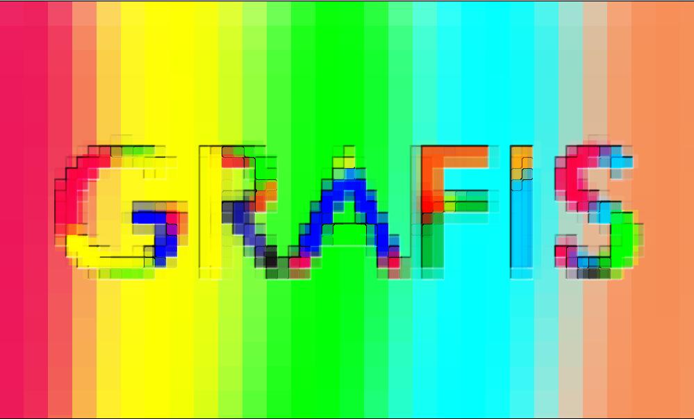 Tutorial Membuat effect Teks Mozaik Di Photoshop