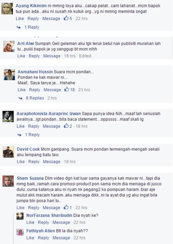 Inilah IDENTITI SEBENAR Kak Mawar Yang Beraksi 'Ghairah' Pasti Ramai Tak Sangka!