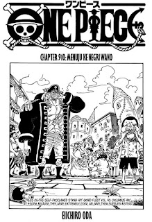 Update! Baca Manga One Piece Chapter 910 Full Sub Indo