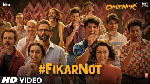 Fikar Not Lyrics - Chhichore | Sushant Singh Rajput and Shraddha Kapoor