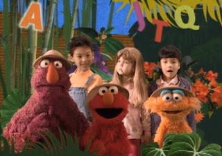 Sesame Street Jungle Game