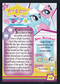 My Little Pony Aloe & Lotus Series 2 Trading Card