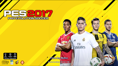 Start Screem FIFA 17 Para PES 2013 By Michel Casillas