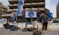 Κορινθία: Ανέλκυσαν 712 κιλά ανθρώπινης ρύπανσης από τον βυθό της παραλίας Λουτρακίου (φώτο)