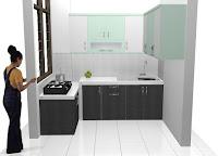 furniture semarang desain kitchen set minimalis HPL granit 01